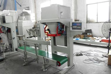 High Tech Filling Beratnya Packaging Soya Bean / Corn Grain Bagging Machine