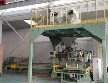 Cina Industri Packing Scale Pupuk Bagging Plant 8000 * 3500 * 5500mm pabrik